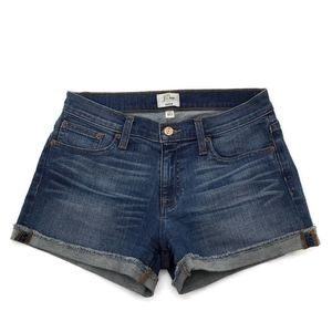 J. Crew Denim Jean Shorts Size 26